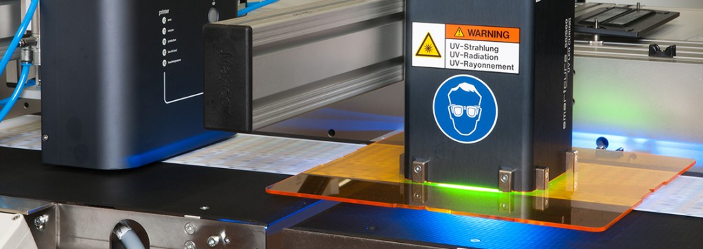 The latest UV LED printer technology
