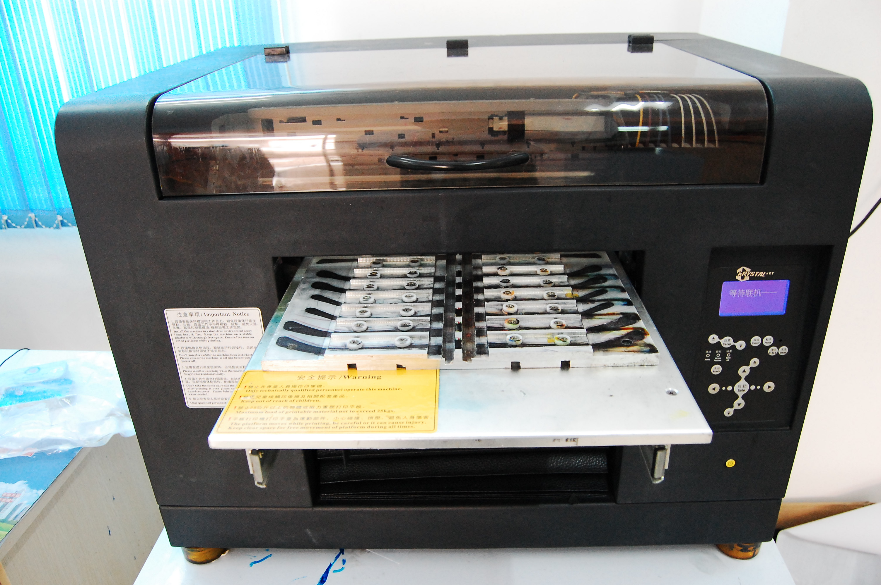 UV Printer For Glasses Digital UV Flatbed Printer